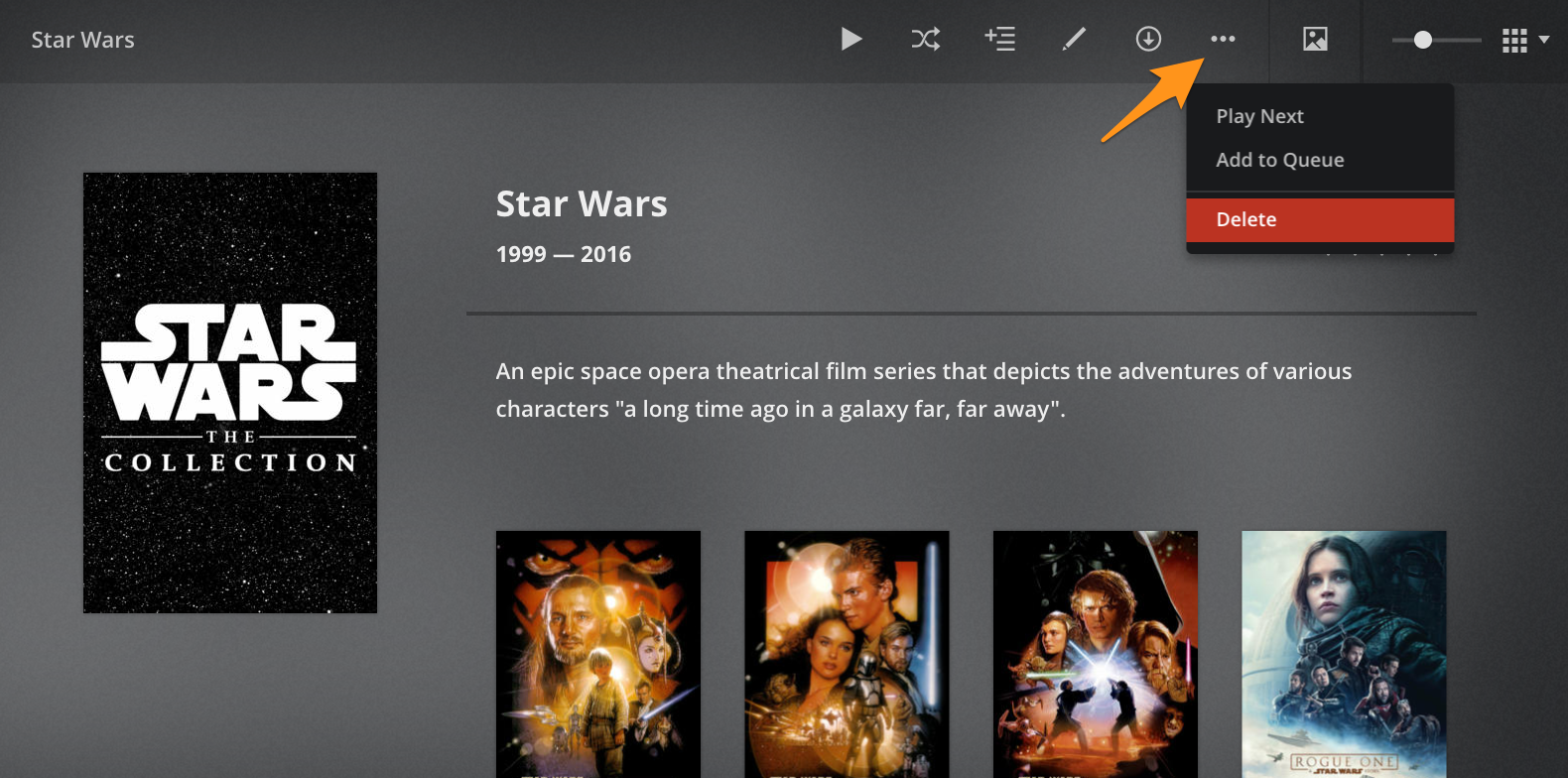 how to create plex collection