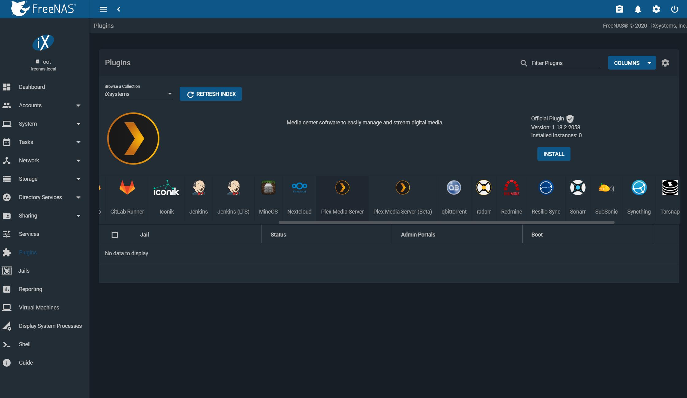 Installing Plex Media Server on FreeNAS Plex Support